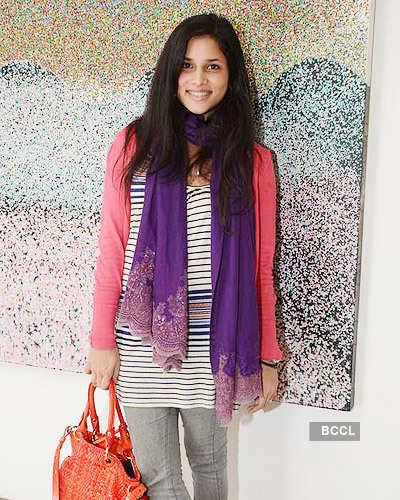 Painter Ghashyam Gupta's exhibition