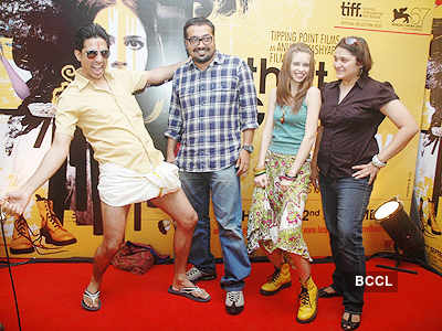Press Meet: 'That Girl in yellow boots'