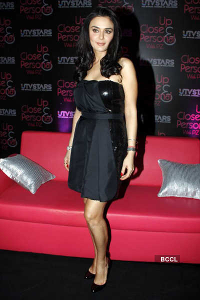 Preity launches her TV show