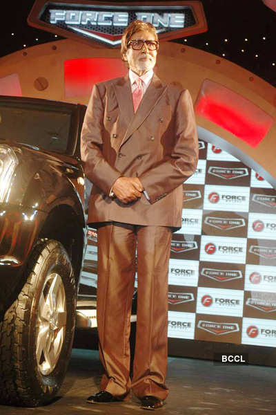 Big B launches 'Force One'