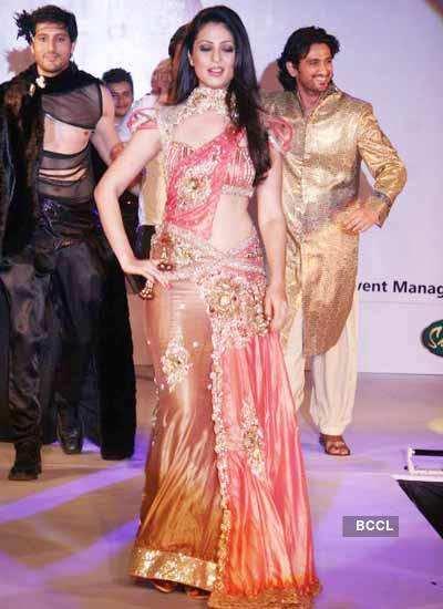 Anjana walks the runway