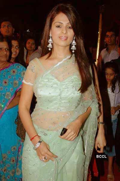 Anjana Sukhani in sarees
