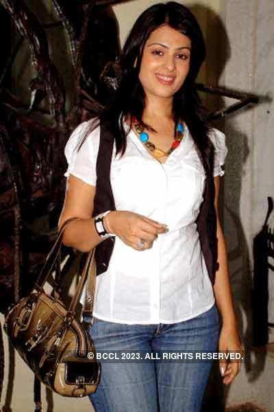 Anjana Sukhani in white