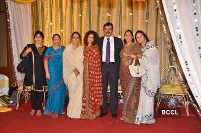 Saurabh Vanzara's reception bash
