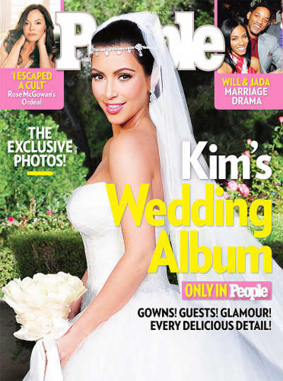 Kim's sex tape: A hot topic on her wedding!