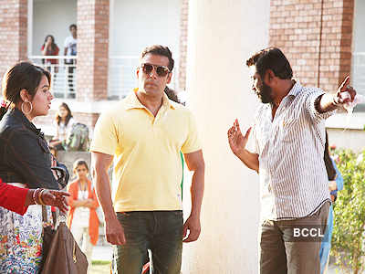 Bodyguard: On the sets