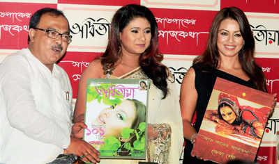 Mahima at promotional campaign