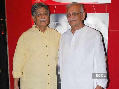 Gulzar, Vishal @ Salim Arif's play