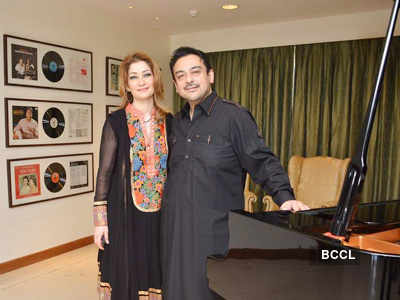 Adnan Sami celebrates Eid with kids