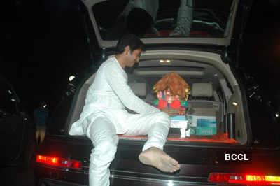 Shreyas celebrates Ganesh Chaturthi
