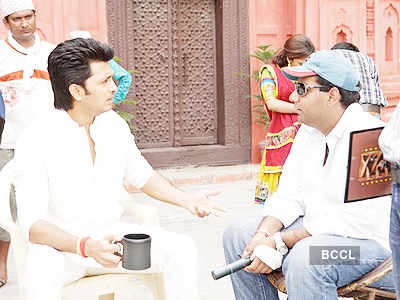 Tere Naal Love Ho Gaya: On the sets