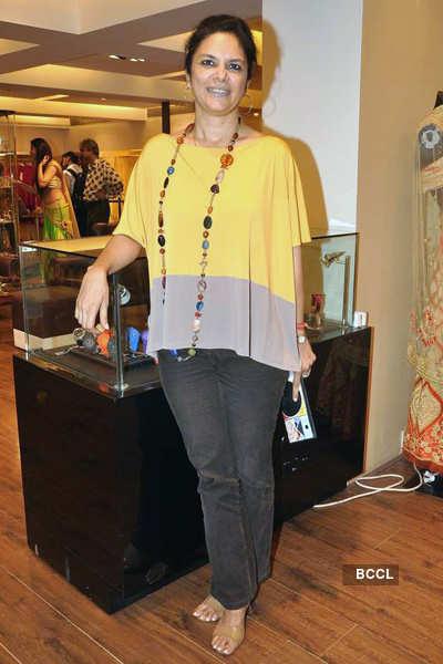 Rahul Mishra's collection showcase