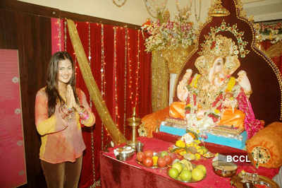 Prasanna Shetty's Ganesh celebration