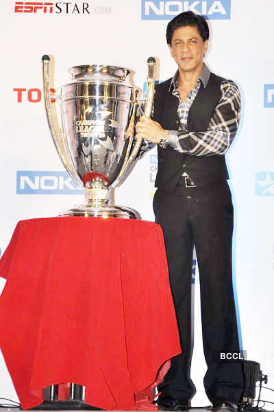 SRK @ Nokia Twenty20 press meet