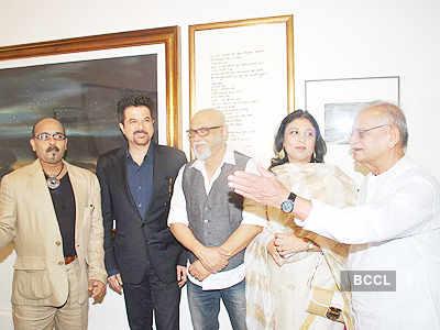 Celebs @ 'Shesh Lekha' exhibition
