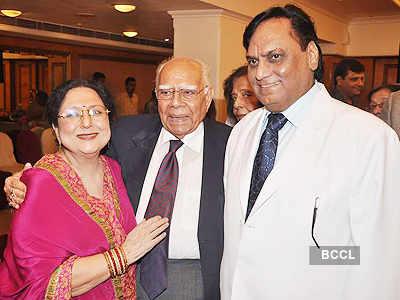 Ram Jethmalani's b'day bash