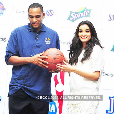 Miss India @ NBA India's jam session