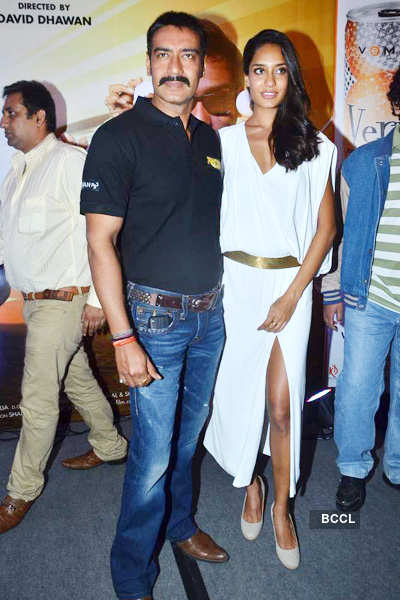Ajay Devgn at 'Rascals' music launch