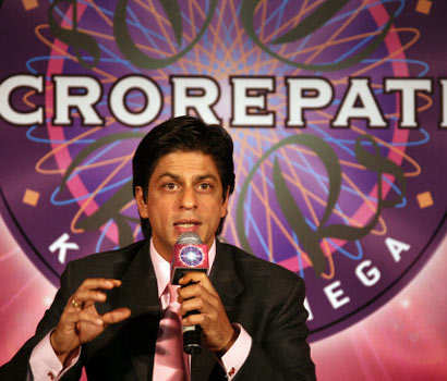 SRK unable to dislodge Big B in KBC |  India News - Times of India