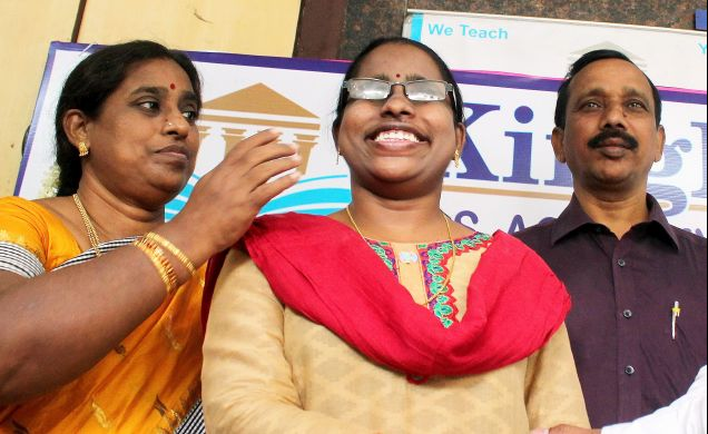 Beno Zephine becomes first 100% blind officer in IFS | India