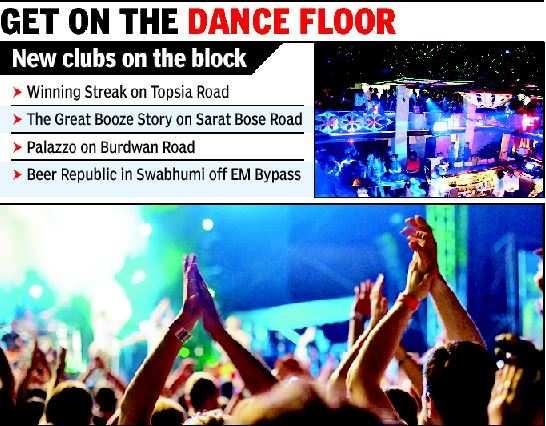 New party spots add zing to nightlife   Kolkata News - Times