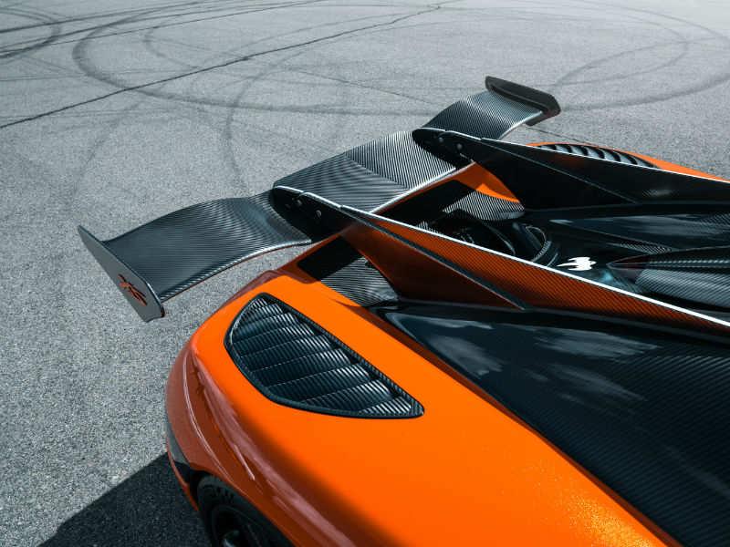 Koenigsegg Agera XS: Orange and black Swede gets a green card
