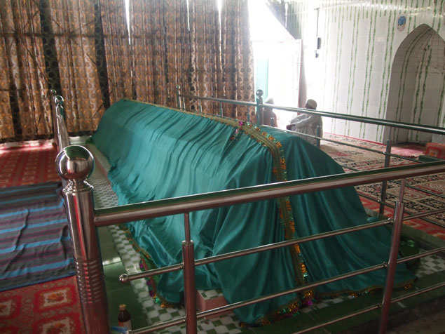 The mazar of Hazrat Shees