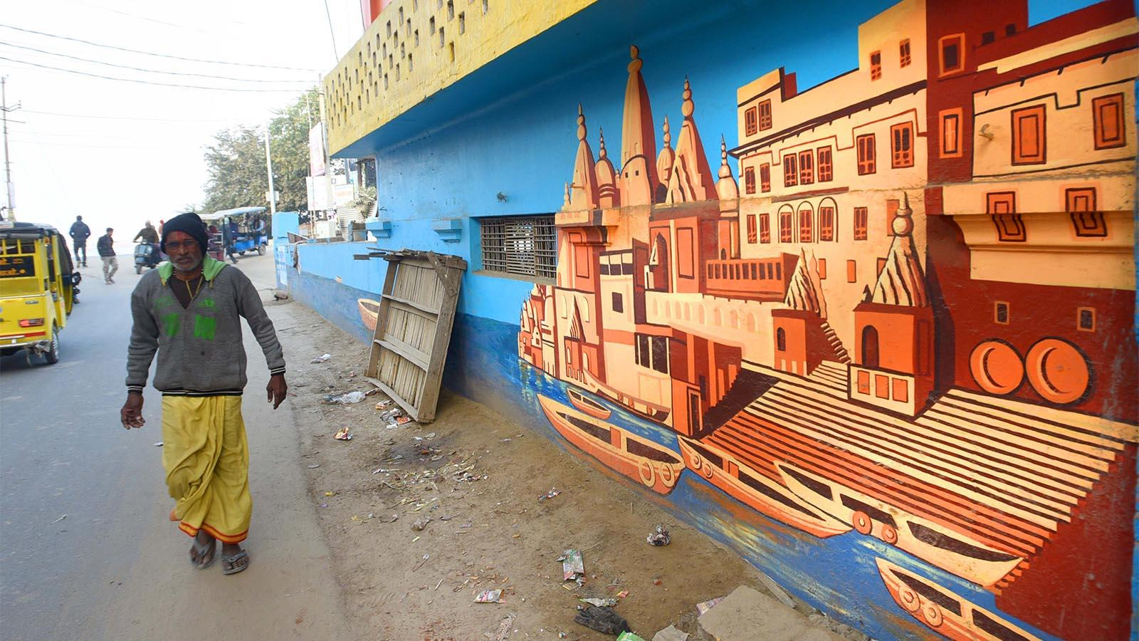 Streets come alive with art in Prayagraj