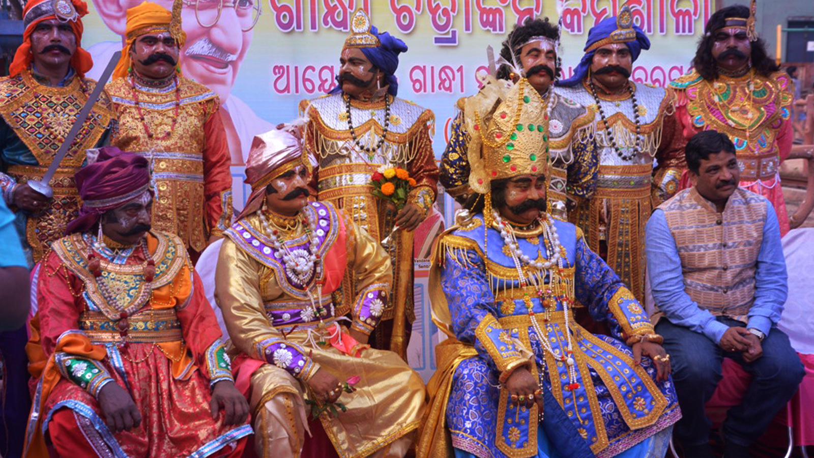 Kansa is the true people's king, the real hero in the Dhanu Yatra