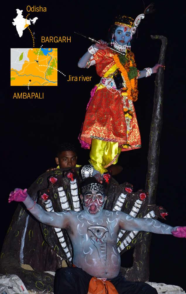 Dhanu Yatra puts on display epochal events from Krishna's life (Photo by Amandeep Saluja)