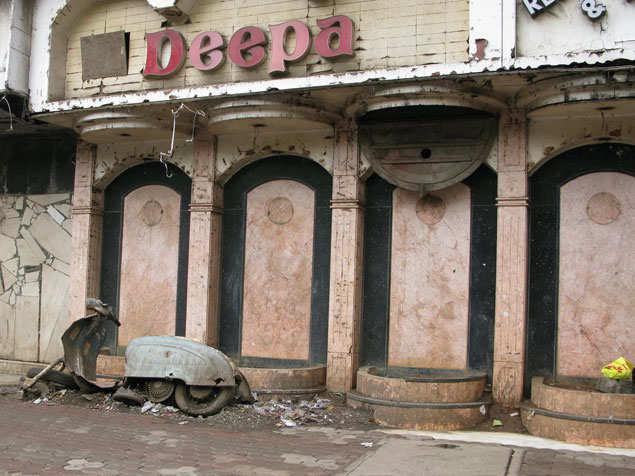 Deepa Bar in Vile Parle is in ruins
