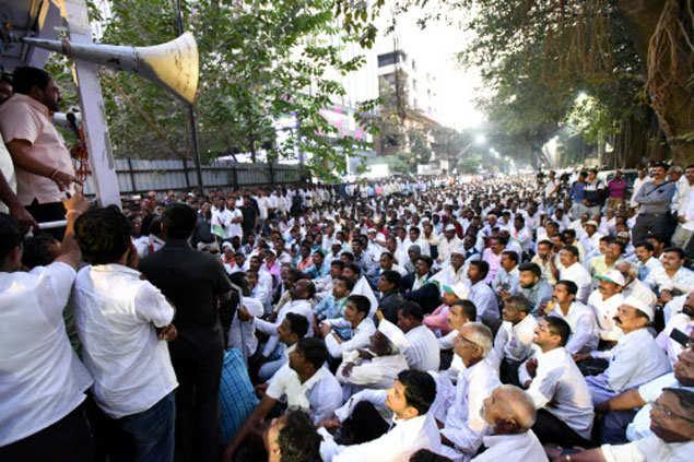 Sugarcane farmers protest in Maharashtra (File photo)