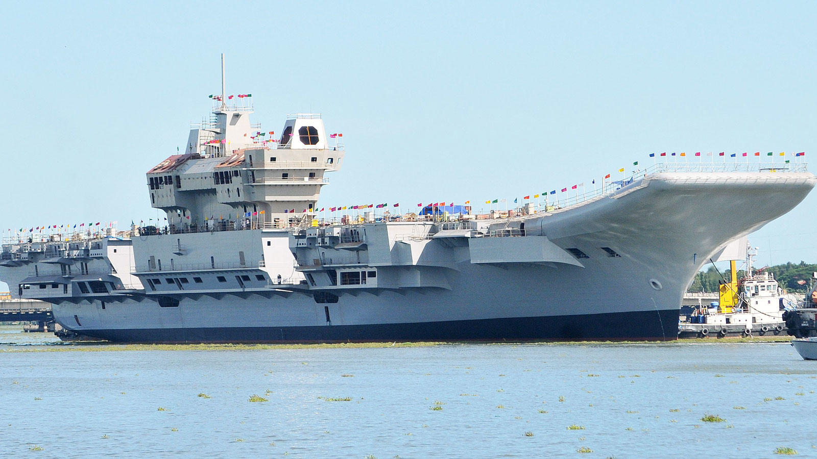 AS Gill was mechanic onboard INS Vikrant (File photo)