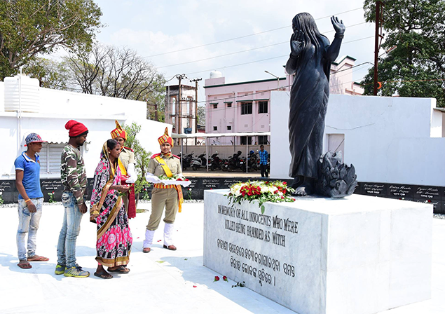 The monument in Keonjhar is an attempt to sensitise people on the deadly superstition