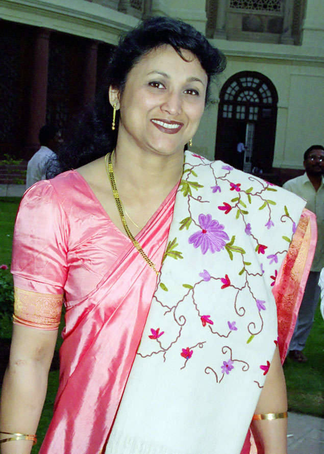 Ranee Narah was elected from Assam on three occasions
