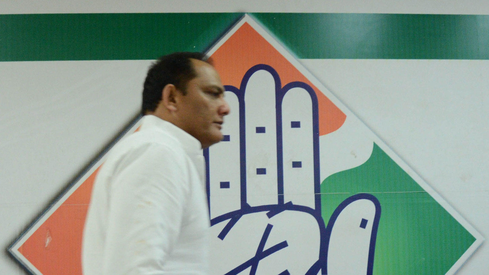 Mohd Azharuddin was elected to Lok Sabha on a Congess ticket in 2009