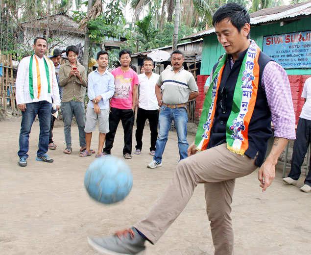 Bhaichung Bhutia contested Lok Sabha elections on TMC ticket, but lost