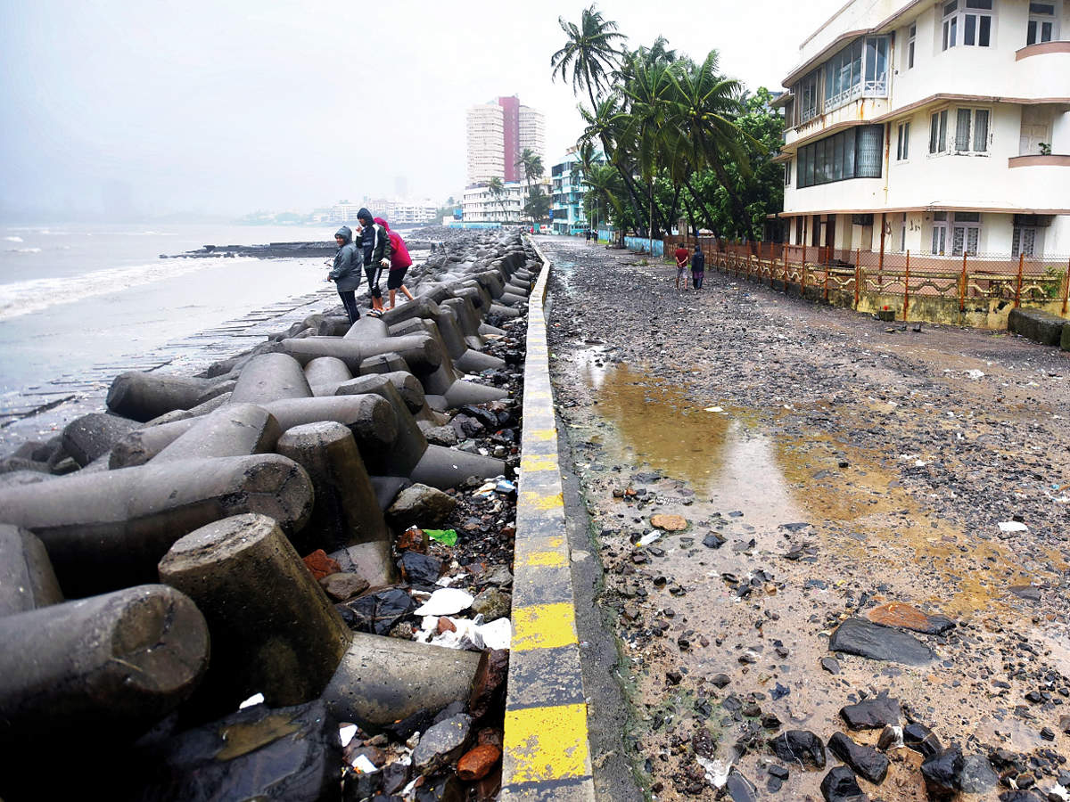 Dadar beach clean-up goes back to square one