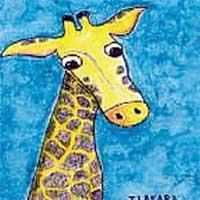 A Giraffe For Ola