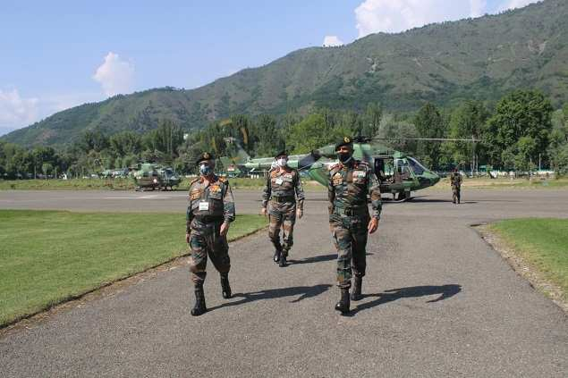 Army chief calls on troops in Kashmir to protect themselves against Pak-instigated terror | India News