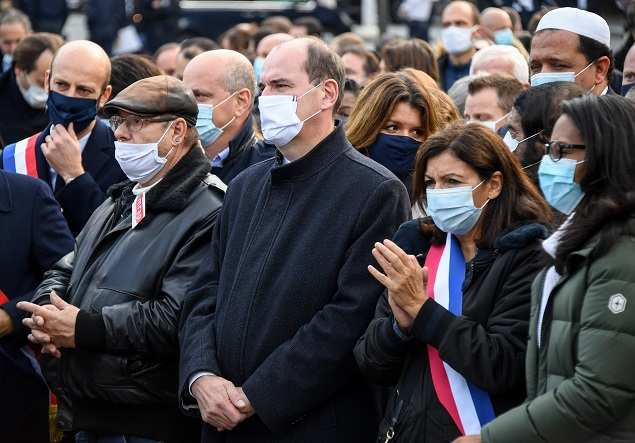 Shocked France rallies in solidarity after beheading of teacher
