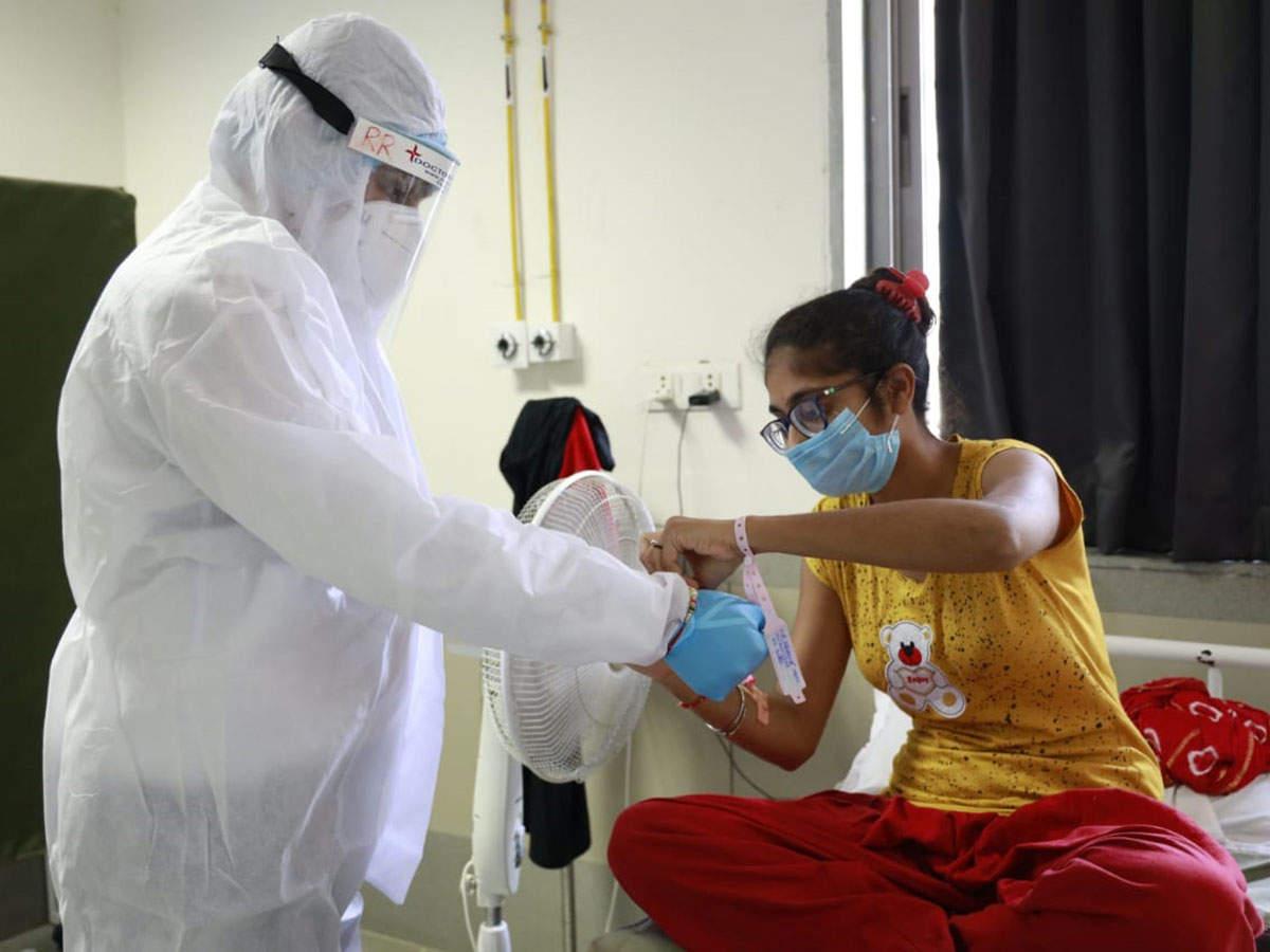 At Covid hospital, festivity pushes coronavirus aside