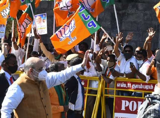 BJP-AIADMK alliance to continue for Tamil Nadu polls, says O Panneerselvam during Amit Shah's visit | India News - Times of India