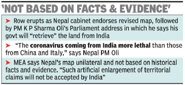 India Strikes Back, Says Nepal Makes Unfounded Claims | India News