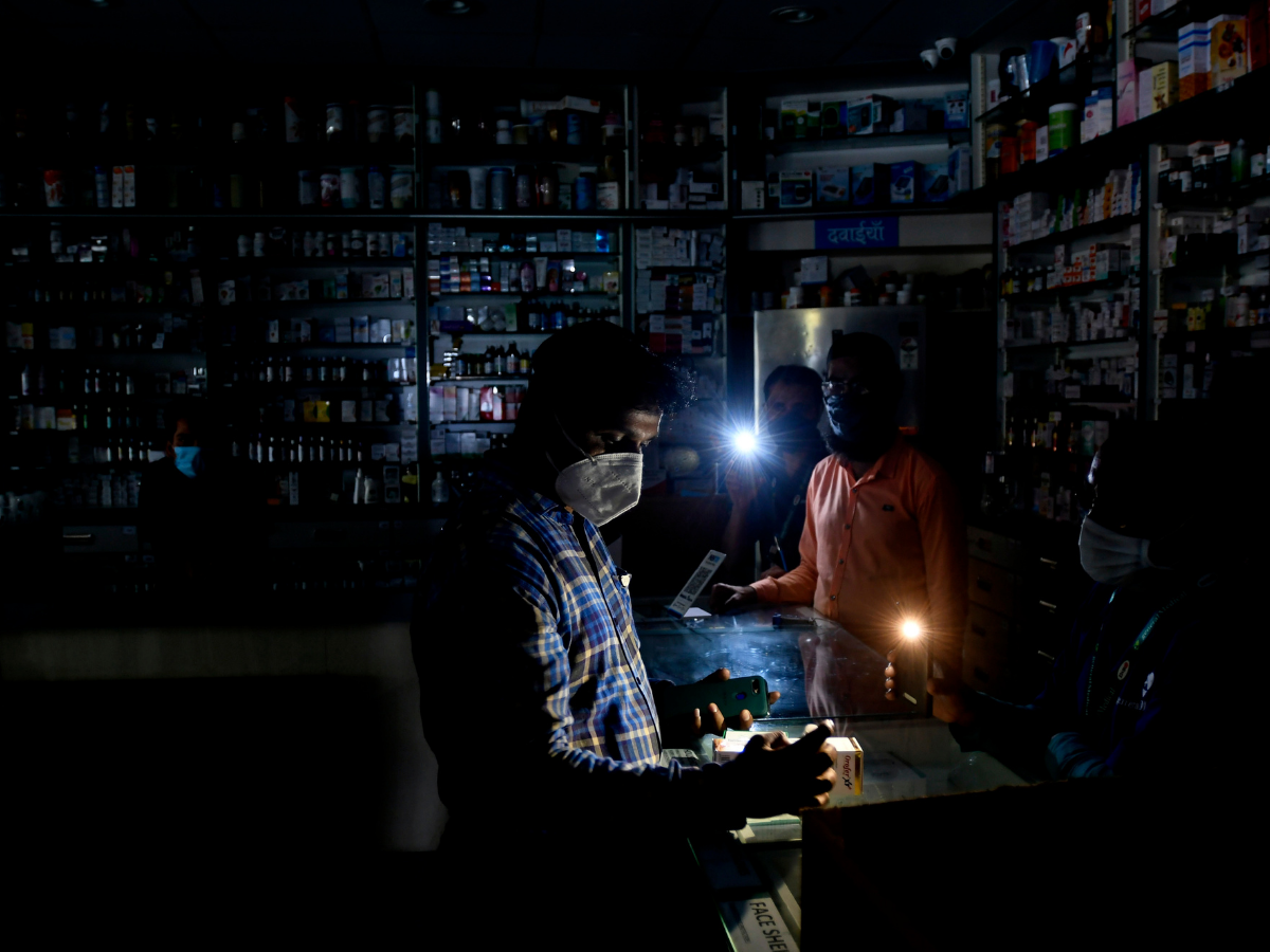 Say watt? What Mumbaikars did when the lights went out