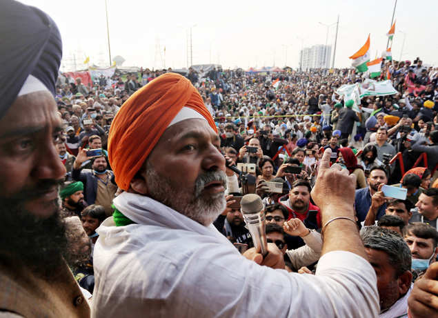 Peasant leaders watch rapid movement pick up as Tikait mobilizes Western UP support | India News