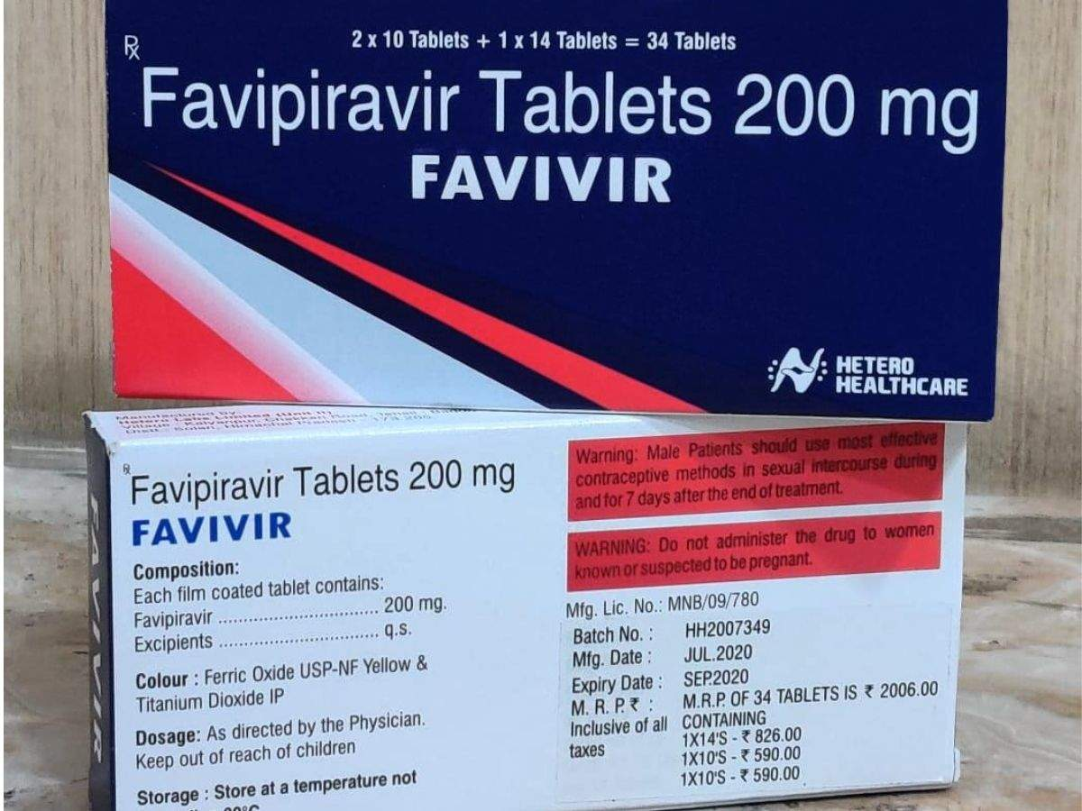 Hetero launches Favipiravir for Covid-19 treatment in India