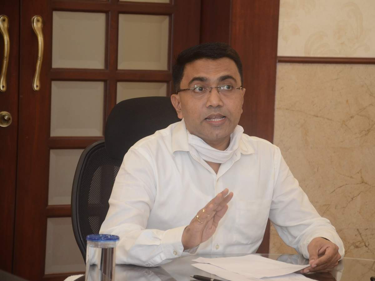 Goa CM Pramod Sawant tests positive for COVID-19; to remain in home isolation