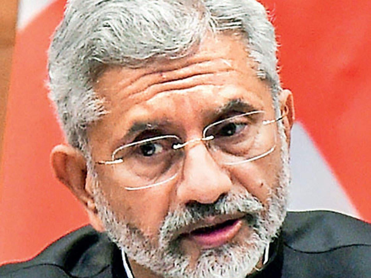 EAM Jaishankar terms NRIs 'intrinsic partners' in growth