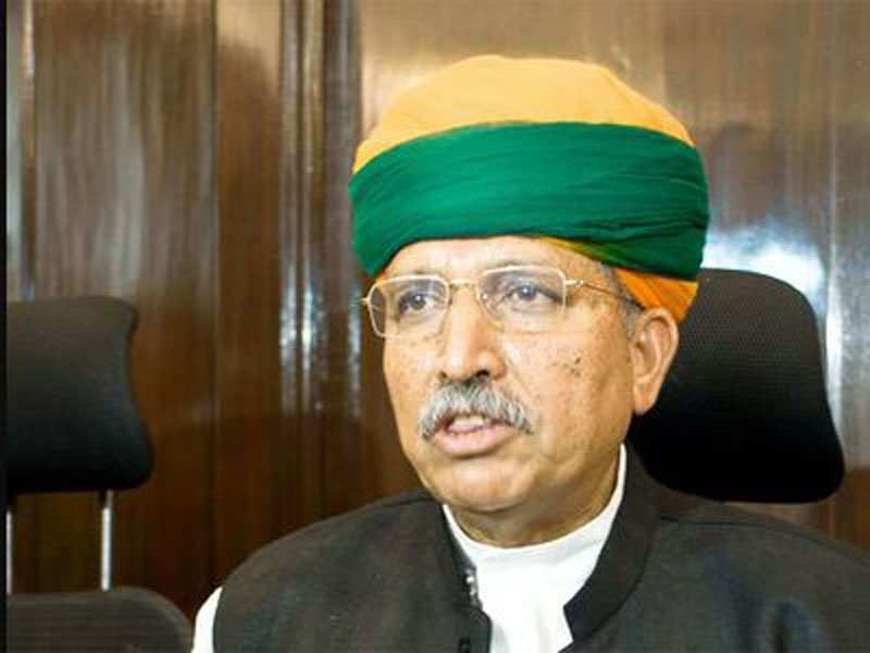 Union Minister Arjun Ram Meghwal who endorsed 'papad' to boost immunity against Covid-19 tests positive